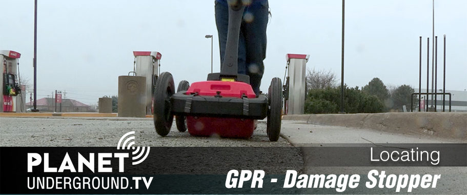 Locating using GPR