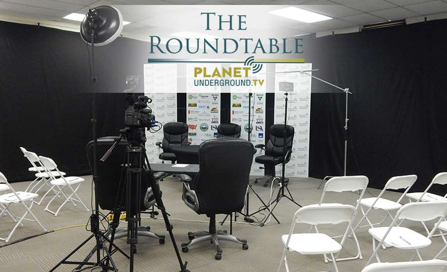 North Table - The Roundtable 2018  - Sponsors on Backdrop