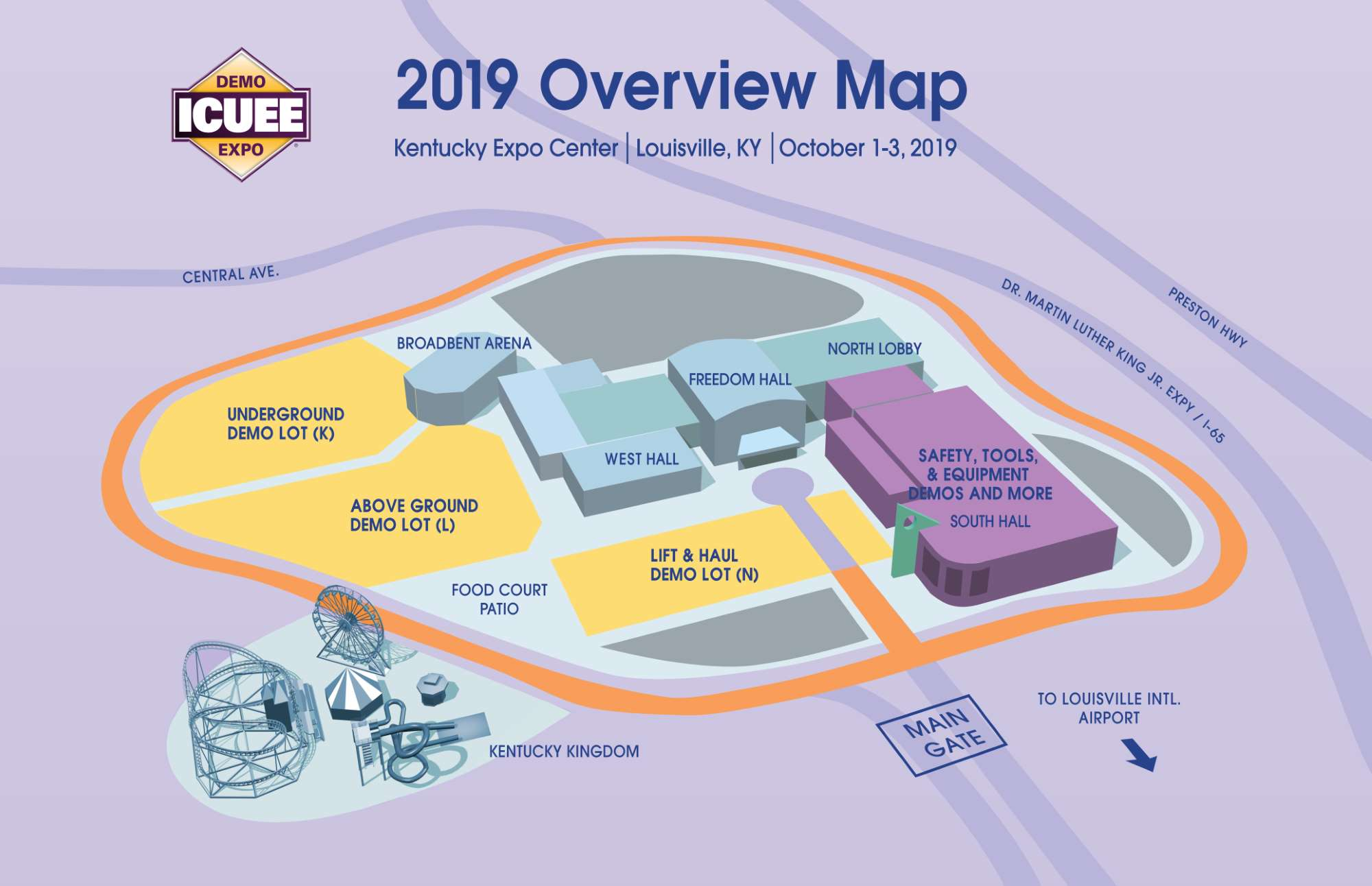 ICUEE map