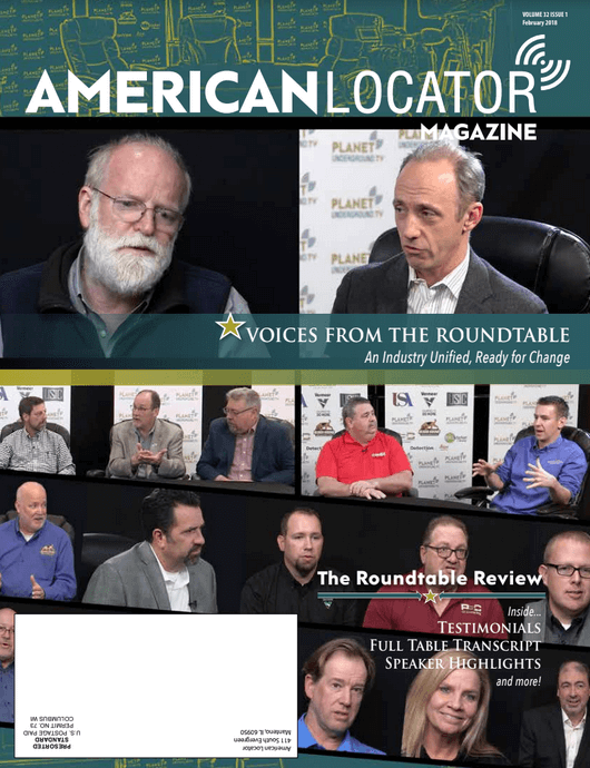 American Locator Volume 32 Issue 1 Cover