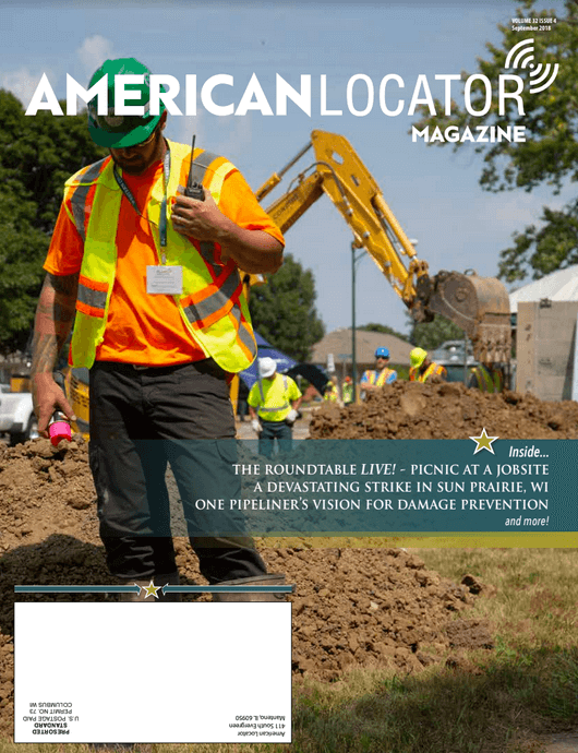American Locator Volume 32 Issue 4 Cover