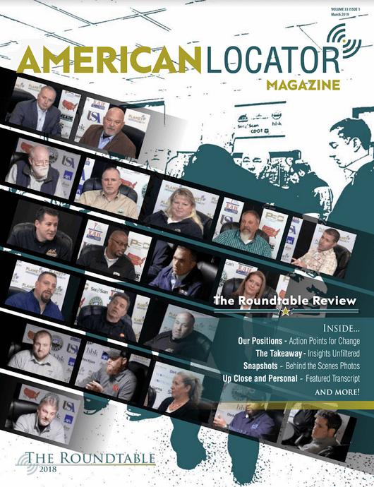 American Locator Volume 33 Issue 1 Cover