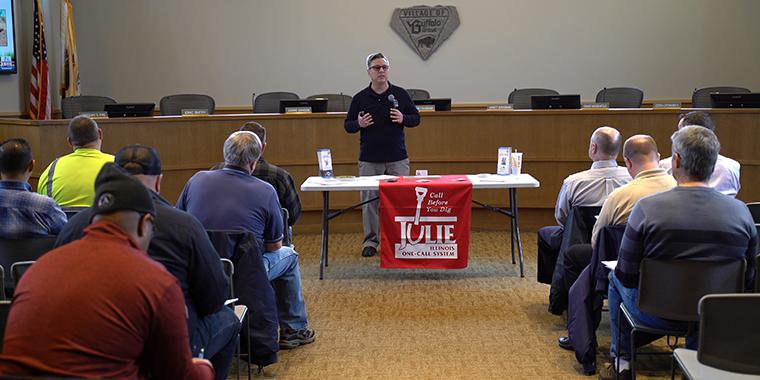 JULIE Utility Coordination Meeting Buffalo Grove IL
