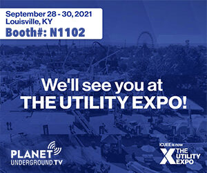 Planet Underground at The Utility Expo Booth N1102